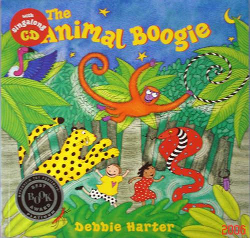 『鬆聽出英語力--第22週』- THE ANIMAL BOOGIE /英文繪本附VCD《主題:動物/ 社會文化/ 動詞/歡唱》