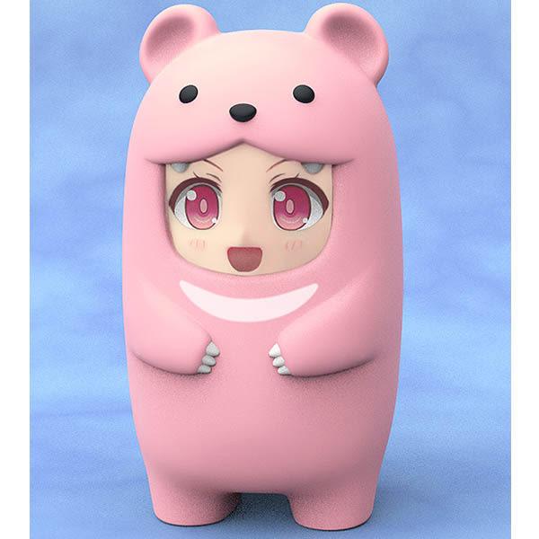 GSC黏土人 More 臉部配件收納盒 GOOD SMILE 代理版 粉紅熊 (Pink Bear)