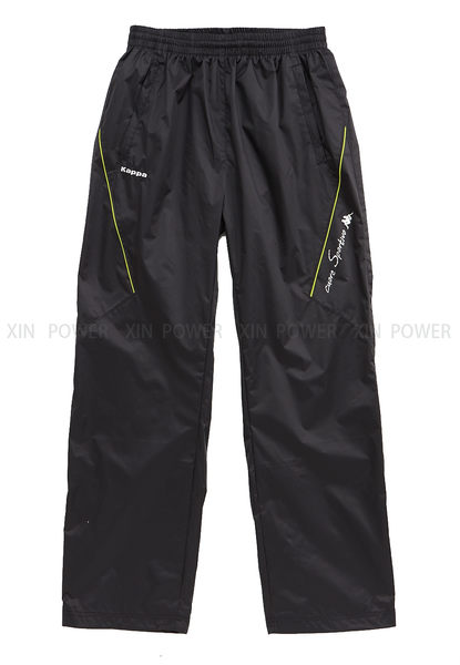 KAPPA~刷毛內裡 保暖 雙層風衣 長褲 (D656-6648-84) 《新動力》