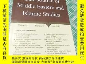 二手書博民逛書店Asian罕見Journal of Middle Eastern