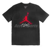 Nike 短袖T恤 Jordan Jumpman Flight Men 黑 紅 男款 休閒穿搭 【PUMP306】 AO0665-010