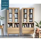 【新竹清祥傢俱】NSF-51SF01 -北歐山毛櫸全實木書櫃 收納櫃 簡約 書房 民宿