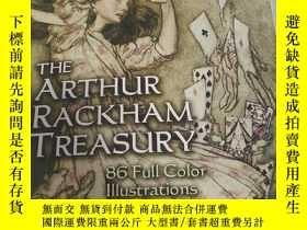 二手書博民逛書店外文原版罕見The Arthur Rackham Treasury 亞瑟拉克姆插畫集Y272562 Arthu