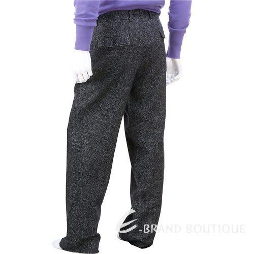 BOSS 毛呢休閒長褲(黑灰色) 0520418-37