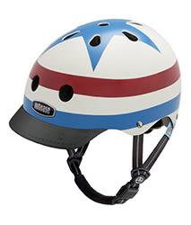 美國 Nutcase 彩繪安全帽-兒童系列-美國隊長 (頭圍48-52公分)