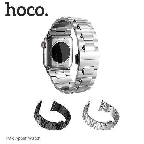 hoco Apple Watch (38/40mm) (42/44mm) 格朗鋼錶帶-黑色款