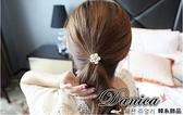 髮束 現貨 韓國連線 小香風 仿古立體 山茶花 玫瑰 水鑽 髮飾(3色) S7576 批發價 Danica 韓系飾品