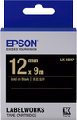 LK-4BKP EPSON 標籤帶(黑底金字/12mm) C53S654407