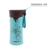 【英國熊】240ml內膽304巧克力真空杯-薄荷 DL-0025