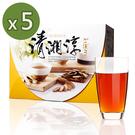 青玉牛蒡茶 清湘淳牛蒡茶包(6g*50包入/盒)x5盒