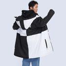 材質:化纖布。版型:寬長版鋪棉外套。