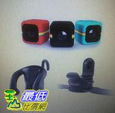 [COSCO代購] Polaroid Cube+ 骰子相機超值組(頑皮磁力架+萬用繫帶接環) _W111981