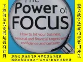 二手書博民逛書店The罕見Power of Focus: How to Hit