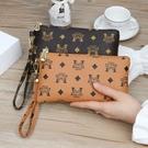 新款女手拿包時尚休閒手抓包手機包女長款錢包手拎包女小包零錢包 夏日新品