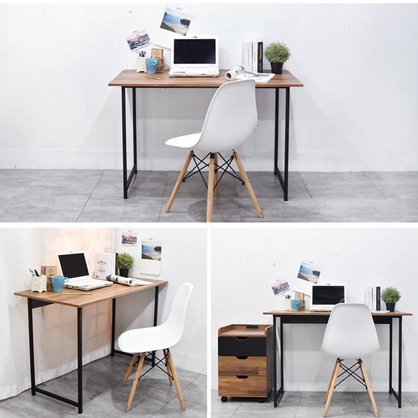 書桌 電腦桌 辦公桌 工作桌 凱堡 木紋風105x55x75cm工作桌-台灣製【B04790】