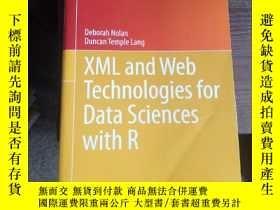 二手書博民逛書店XML罕見and Web Technologies for Da