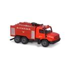 Majorette美捷輪 國際款 台灣限定 消防車款S2 Mercedes Benz Zetros 台北市政府消防局 TOYeGO 玩具e哥