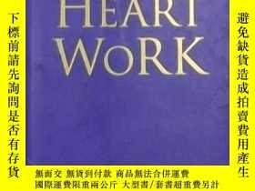 二手書博民逛書店英文原版罕見Heart work by Chin Bock Ch