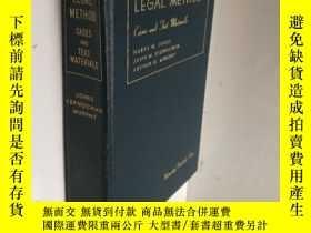 二手書博民逛書店LEGAL罕見METHOD CASES AND TEXT MATERIALS 法律方法Y202668 請閱圖