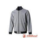 [Wildland] 荒野 (男) 防潑防風保暖飛行外套 灰 (0A72916-90)