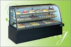 圓弧大理石型 西點蛋糕冷藏櫃【4尺 冰櫃】型號:C-104HR