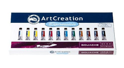 Art Creation Expression 9011612M 廣告顏料 12色入 / 盒