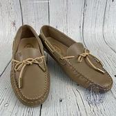 BRAND楓月 TOD'S 膚色豆豆鞋 #36.5 包鞋 涼鞋 樂福鞋 船鞋 懶人鞋 駕車鞋 皮鞋 鞋子 皮質 光滑皮