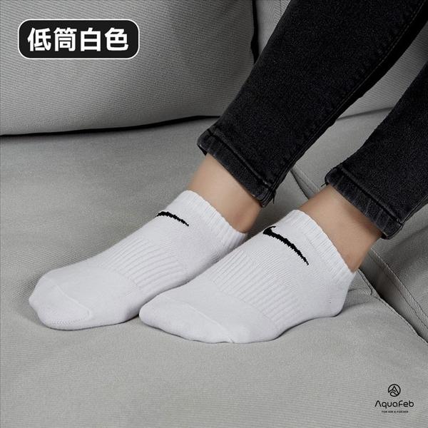 Nike 基本款 黑色 白色 1包3入 運動襪 短襪 SX4705-101