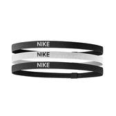 Nike 髮帶 Elastic Hairbands 黑 白 男女款 頭帶 運動休閒 【PUMP306】 NJN0403-6OS