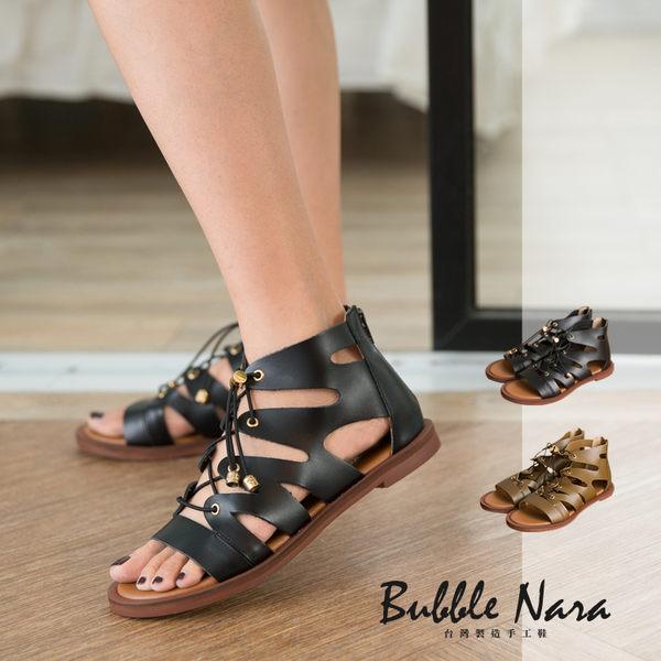 日不落涉谷系羅馬涼鞋 。波波娜拉-Bubble Nara~顯瘦不緊繃,難得一見的超修飾鞋版