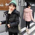韓版女童裝秋冬外套 時尚簡約 女童裝棉衣...