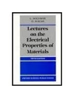 二手書博民逛書店《Lectures on the Electrical Prop