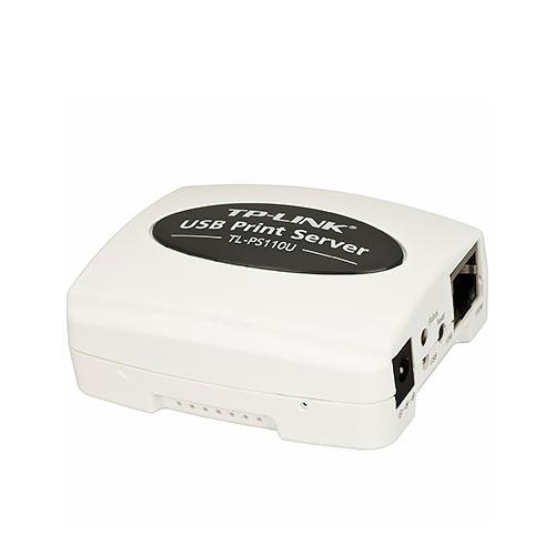 TP-LINK TL-PS110U 單一 USB2.0 連接埠快速乙太網路 列印伺服器