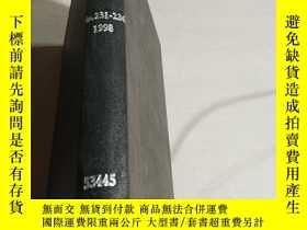 二手書博民逛書店罕見NITROGEN.No.231-236.1998(氮)(英文