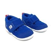 《7+1童鞋》小童 日本月星 MOONSTAR 透氣 機能鞋 運動鞋 學步鞋 D485 藍色