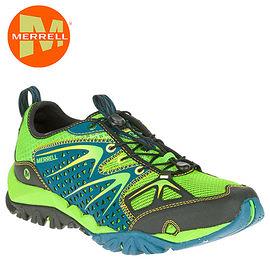 丹大戶外【MERRELL】美國 男款 CAPRA RAPID 多功能防水透氣健行登山鞋 ML35401 藍/綠
