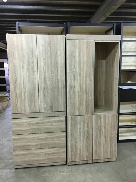 【石川傢居】客製化專區 ET-518 原切橡木開門衣櫃/ 更衣室 /斗櫃/可訂製尺寸/可選色/台灣製造