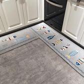 廚房地墊吸水防油地墊長條浴室防滑腳墊子進門口門墊家用臥室地毯『櫻花小屋』