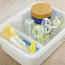 嬰兒奶瓶收納箱盒帶蓋