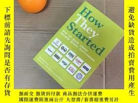二手書博民逛書店How罕見they started-how 30 good id