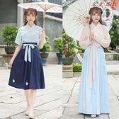 【YPRA】漢服女裝改良復古中國風古裝齊腰襦裙