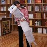 長條圓柱男朋友抱枕靠墊大號貓咪老師睡覺雙人枕頭可拆洗生日禮物WY【快速出貨限時八折】
