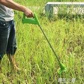 家樂美充電式電動割草機打草機神器家用除草機小型多 草坪機QM 『櫻花小屋』