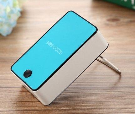 迷你掌上小空調無葉製冷USB可充電手拿便攜式學生手持小型電風扇 特價 290 少量現貨 充電