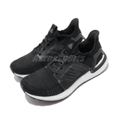 adidas 慢跑鞋 UltraBOOST 19 黑白 女鞋 百搭款 運動鞋 【PUMP306】 G54014