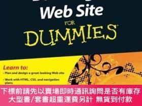二手書博民逛書店預訂Building罕見A Web Site For Dummies, 4Th EditionY492923