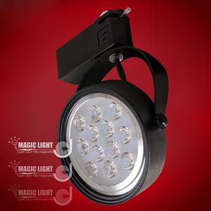 【光的魔法師 Magic Light】LED軌道燈 18W 黑色外殼黃光