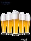 大號無鉛玻璃啤酒杯家用加厚創意歐式扎啤杯精釀啤酒杯酒吧酒杯 9號潮人館