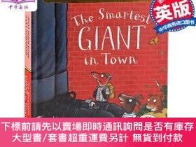 二手書博民逛書店罕見原版 城裏美麗的巨人 紙板書 英文原版 The Smartest Giant  Y454646 Julia