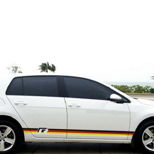 VW 車身拉花貼 車身貼 GOLF GTI SCIROCCO PASSAT BEETLE CC 沂軒精品 A0389